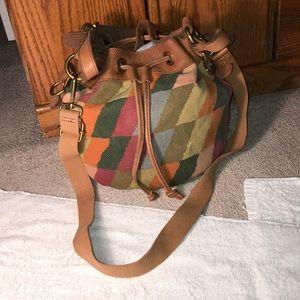 Fossil Crossbody Duffel Bag
